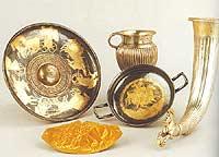 Comoara a tracilor descoperita in Bulgaria