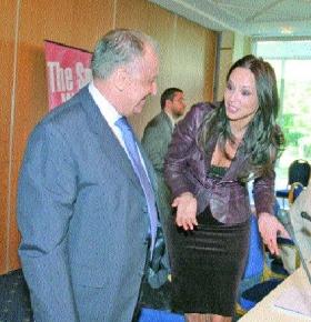 Andreea Marin si George Becali, greii Puterii
