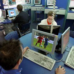 Liga I de fotbal pe internet