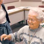 Absolventa la 95 de ani