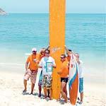 Cea mai lunga placa de surf din lume