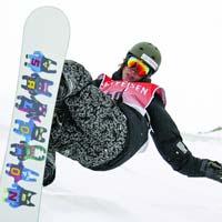 Concurs de snowboarding in Parcul Tineretului