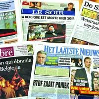 'Belgia a murit ieri-seara!'