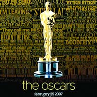 Posterul Oscar 2006, decorat cu replici celebre din filme