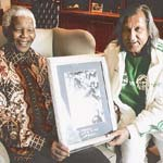 Ilie Nastase l-a vizitat pe Mandela