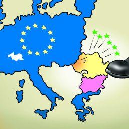 Rusia trage suturi Europei in Romania