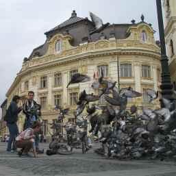 Sibiul, vazut din marile orase