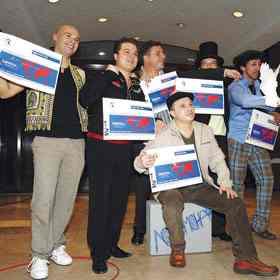 Eurovisionul national, castigat de «Lordi»-i Romaniei, Locomondo