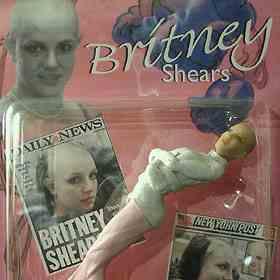 """Papusa """"Britney la reabilitare"""""""