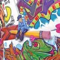 Grafittiul coloreaza orasul