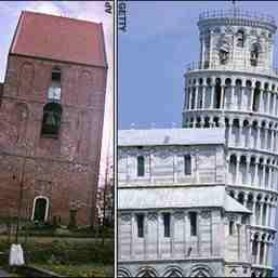 Turnul din Pisa, intrecut de biserici